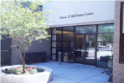 Tempe Arizona senior center Cahill